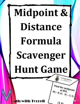 Distance Formula With Answer Key Teaching Resources Teachers Pay