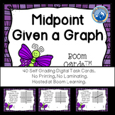 Midpoint of Segments from Graphs Boom Cards--Digital Task Cards