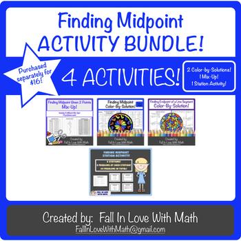 Midpoints Activity Bundle!
