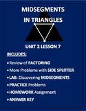 Midsegments in Triangles (PDF)