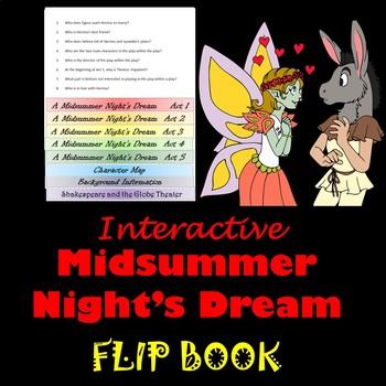 Midsummer Night's Dream Interactive Study Guide