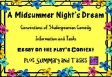 Midsummer Night's Dream Plot, Context and Comedy Conventio