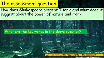 Midsummer Night's Dream Titania Extract Analysis