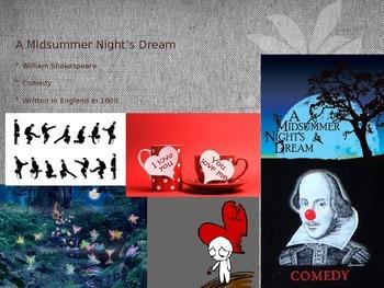 Midsummer Night's Dream PPT Act 1-3