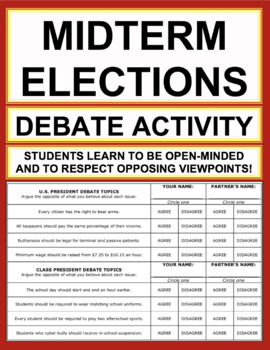 debate topics for students in english