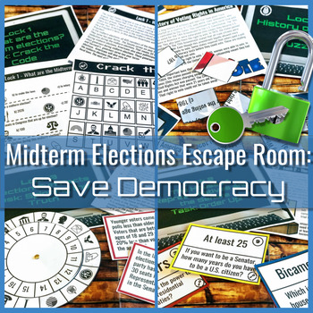 Midterm Election Escape Room: Save Democracy!