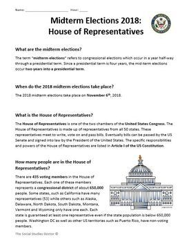 Midterm Elections 2018: The House of Representatives