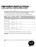 MIDTERM Reflection for high school  - for all subjects
