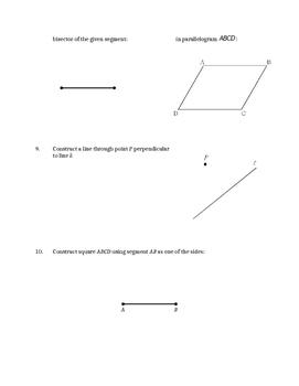 Midterm Review - Constructions