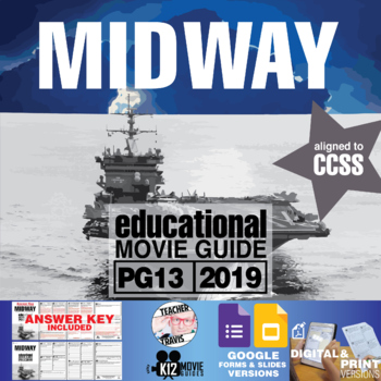 Midway Movie Guide | Questions | Worksheet (PG13 - 2019)