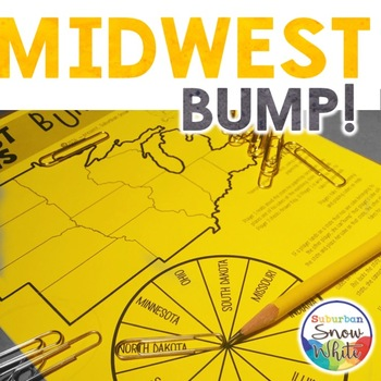 Midwest Bump Game for United States, U.S. Capitals, and Abbreviations