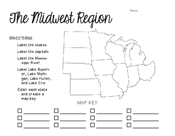 Midwest Mapping Activity
