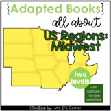 Midwest Region Adapted Books [ Level 1 and Level 2 ] | US