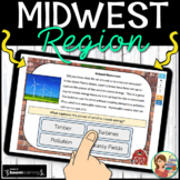 Midwest Region Boom Cards Distance Learning