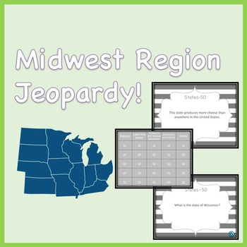 Midwest Region Jeopardy Review Game