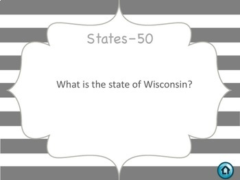 Midwest Region Jeopardy Style Review Game