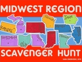 Midwest Region Scavenger Hunt - U.S. Regions