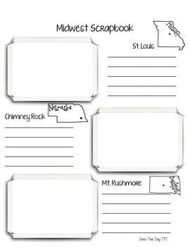 Midwest Region Scrapbook & Notes Unit