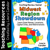 Midwest Region Showdown | States and Capitals Game