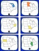 Midwest Region States and Capitals Task Cards {Four Region