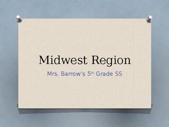 Midwest Region of USA PPT
