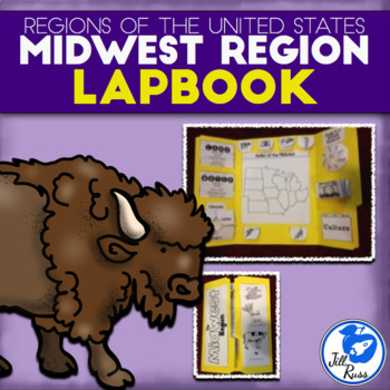 Midwest Region of the United States Lapbook or Interactive