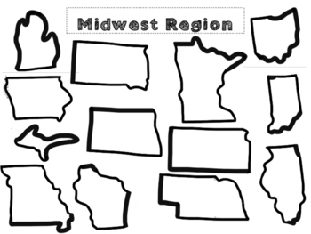 Midwest Regions cut and paste