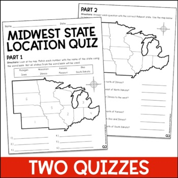 Midwest State Locations