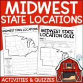 Midwest Region   State Locations   Geography