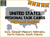 Midwest State Region Task Cards