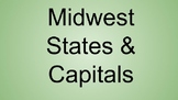 Midwest States & Capitals