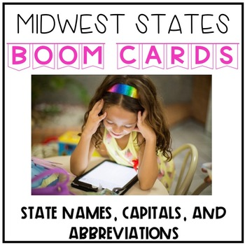 picture regarding Printable State Capitals Quiz called Midwest Says And Capitals Worksheets Schooling Components