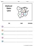 Midwest States Quiz
