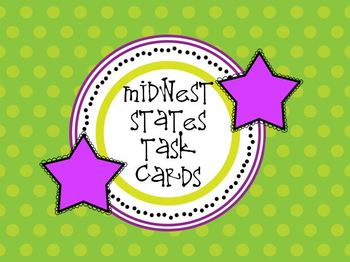 Midwest States Task Cards