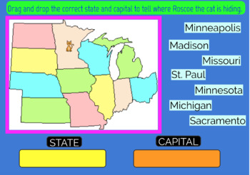 Midwest U.S. States and Capitals Boom Cards, Games, Geography, Map on australia map games, math map games, geography vocabulary, canada map games, southeast asia map games, geography flag games, weather map games, africa map games, africa country games, social studies map games, maps map games, african geography games, football map games, geography review, middle east map games, world map games, geography outline maps, europe map games, geography case study, usa map games,