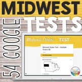 Midwest United States Capitals Tests Quizzes for Google Dr