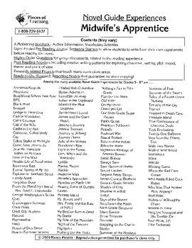 Midwife's Apprentice Literature Guide
