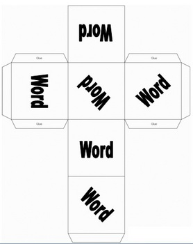 Mientras Cube (Spanish Preterite, Imperfect Dice Practice)