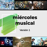 """Miércoles Musical: Yearlong """"March Madness"""" Spanish Music Mania Bellringer"""