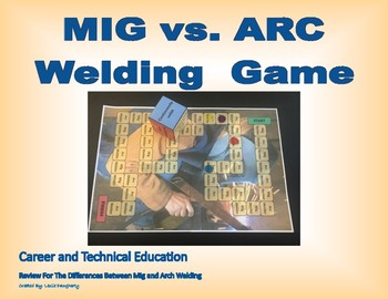 Mig vs. Arc Welding Game for Career and Technology Education