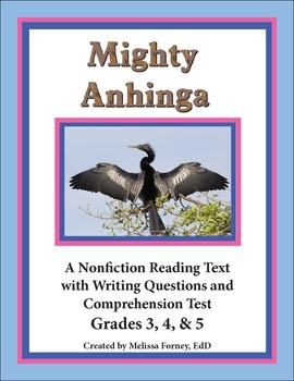 Nonfiction Reading and Questions Grades 3 - 5