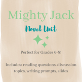Mighty Jack Novel Unit