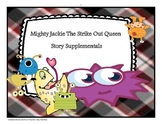 Mighty Jackie the Strike Out Queen by Marissa Moss - Reading Quiz + Bundle