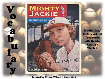 Mighty Jackie the Strikeout Queen