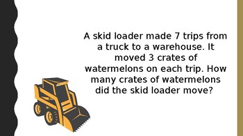 Mighty Machines Word Problems-Editable