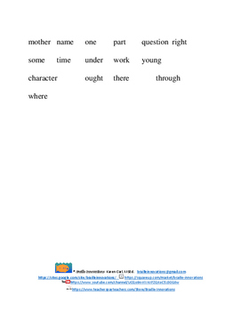 Mighty Man Dot 5 Braille Contractions