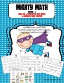 Mighty Math Daily 4 Practice of Math Skills - Grades 3 & 4