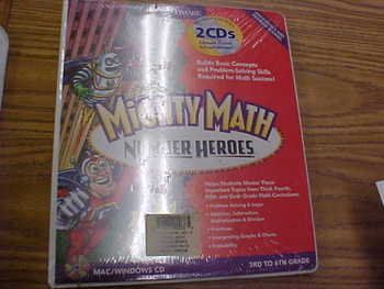 Mighty Math Number Hereos School Version Software