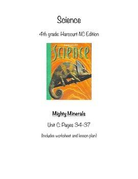 Mighty Minerals (4th grade CC- NC Harcourt)