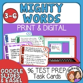 Test Prep Task Cards: Words Your Students Need to Know for the Test